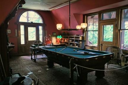 Una stanza della Casa-Museo di Mark Twain