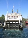 Disneyland, una barca intitolata a Mark Twain