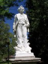 Statua in ricordo di Mark Twain