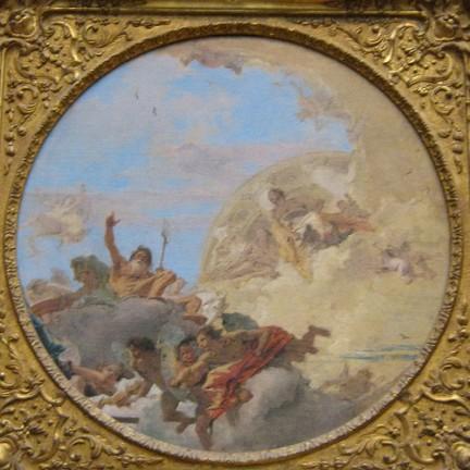 Neptune and the Winds di Giovanni Battista Tiepolo