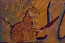 Antico murales egiziano