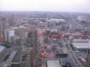 Detroit vista dall'alto