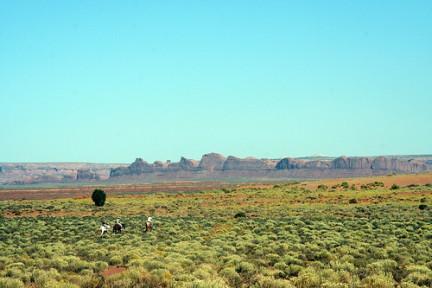 Monument Valley - Navajo a cavallo