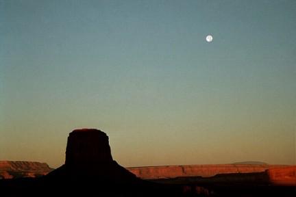 Monument Valley - Quando scende la notte