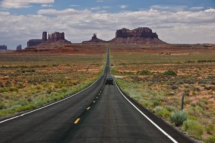 Monument Valley vista dalla strada