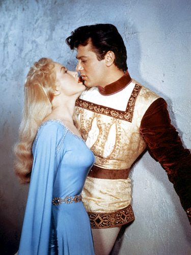 Tony Curtis e Janet Leigh