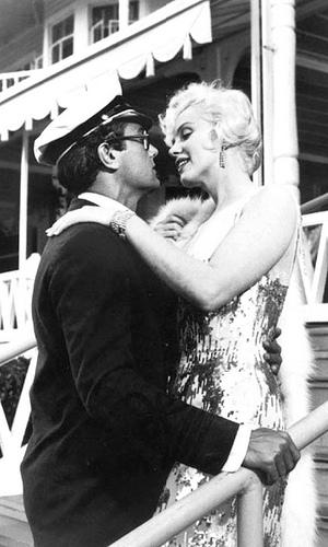 Tony Curtie e Marilyn Monroe - Some Like It Hot 1959