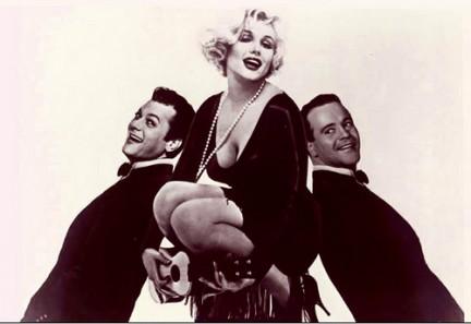Tony Curtis - Marilyn Monroe - Jack Lemmon