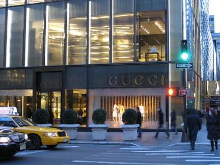 Negozio Gucci alla Trump Tower