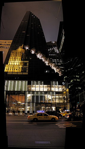 Trump Tower di notte