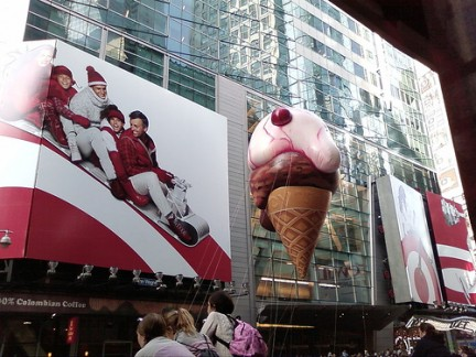 Macy's Thanksgiving Day Parade Cono gelato