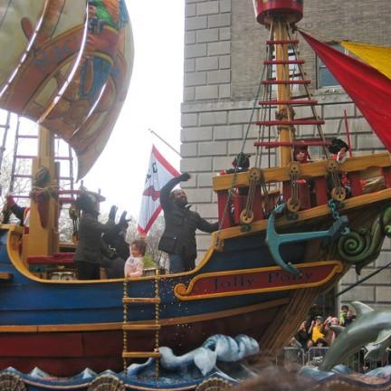 Macy's Thanksgiving Day Parade Un veliero