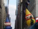 Pupazzi sfilano alla Macy's Thanksgiving Day Parade