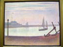 Georges-Pierre Seurat - The Channel at Gravelines Evening