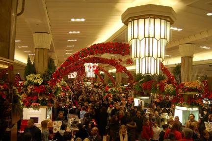 Macy's durante le feste di Natale