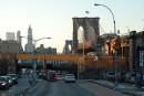 Brooklyn Bridge al tramonto