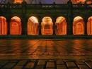 Le arcate di Central Park al tramonto