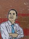 Graffito di Obama