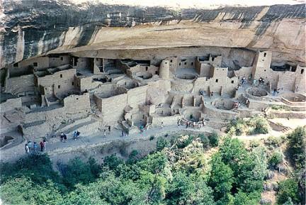 Antiche abitazioni degli Anasazi
