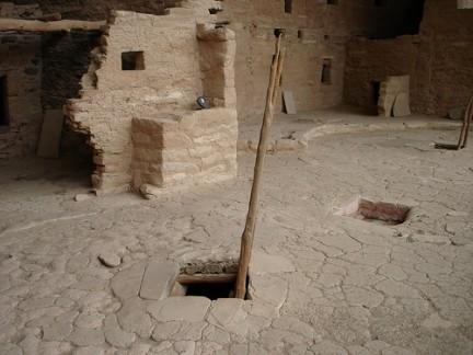 Resti delle antiche abitazioni