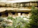 Nel parco sono visibili i resti di antiche costruzioni del popolo Anasazi