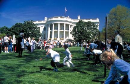 Casa Bianca, la caccia alle uova