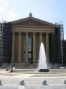 Il piazzale del Philadelphia Museum of Art