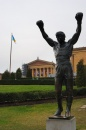 Statua di Rocky Balboa al Philadelphia Museum of Art