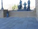 Statue al Philadelphia Museum of Art