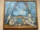 The Large Bathers - Paul Cezanne