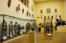 Una sala dedicata alle armature