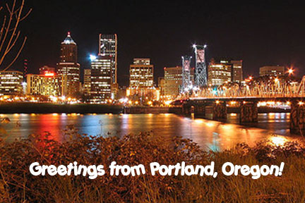 Cartolina di Portland