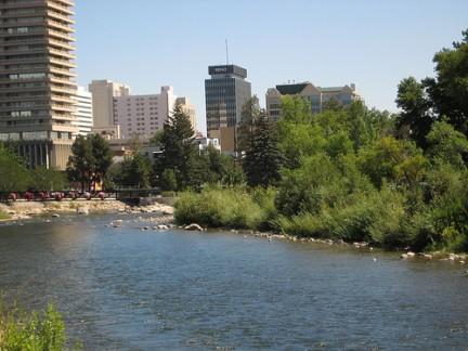 Reno vista dal fiume