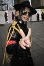 Michael Jackson in un suo travestimento