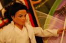 Una bambola con le sembianze di Michael Jackson