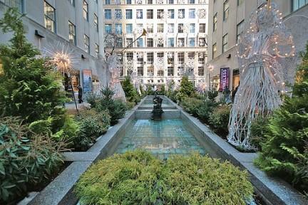 Decori di Natale al Rockefeller Center