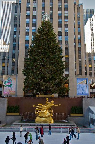 Natale al Rockefeller Center