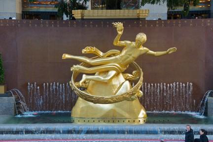 Statua al Rockefeller Center