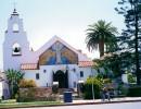 Una caratteristica Chiesa di San Diego