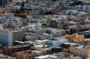 Panorama di San Francisco visto dalla Coit Tower