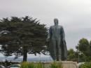 Statua davanti alla Coit Tower