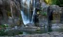 La cascata nel lago Stow - Golden Gate Park