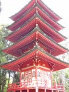 Panorama di una Pagoda - Japanese Tea Garden