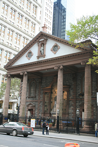 Facciata St. Paul's Chapel