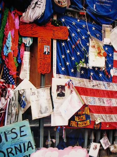 Ricordi dell'11 settembre 2001 nella Chiesa