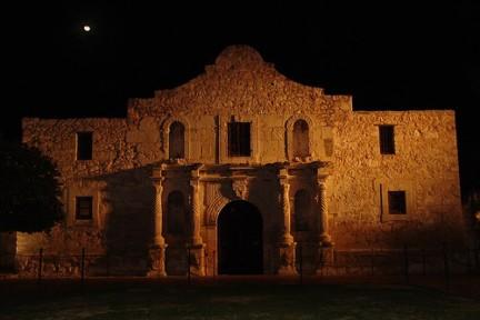 Alamo nella notte