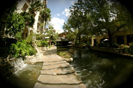 River Walk - Uno dei percorsi
