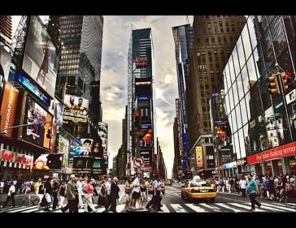 Passeggiare a Times Square