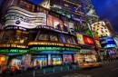 Neon animati ed insegne luminose a Times Square