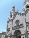 La facciata della Chiesa dei Santi Pietro e Paolo